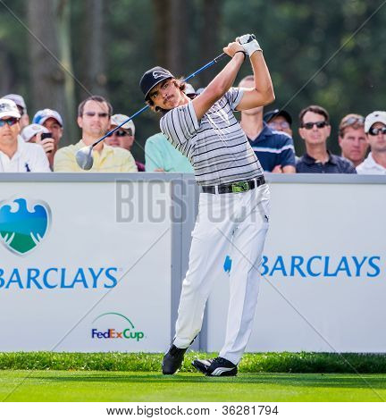 Rickie Fowler At The 2012 Barclays