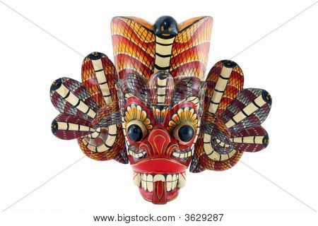 Traditional Mask Of The Devil From Sri Lanka