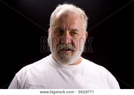 Shot Of An Elderly Man
