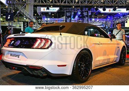 Pasay, Ph - April 7 - Ford Mustang At Manila International Auto Show On April 7, 2018 In Pasay, Phil