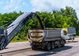 Cold Milling Machines Are Used For The Quick, Highly Efficient Removal Of Asphalt And Concrete Pavem