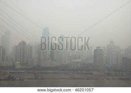 The Yangtze River In Chongqing