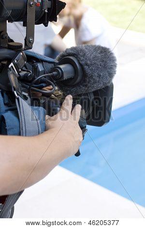 Cameraman In Action