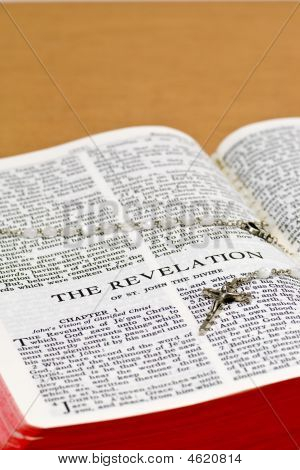 Rosary Bible Page - The Revelation