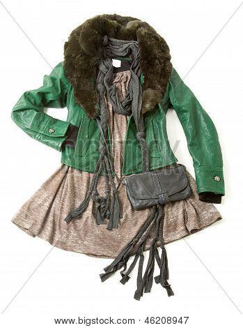 Bohemian Styling Fashion Composition