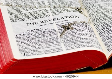 Rosary Bible Page - Revelation