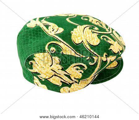 Vegetable Ornaments Green And Golden Cap