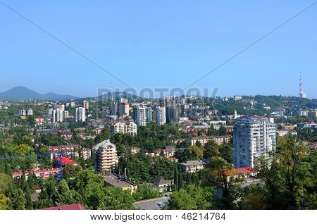 Sochi City From The Top