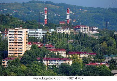 Sochi city Landscape In Summer
