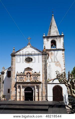 Church Of Santa Maria In Obidos