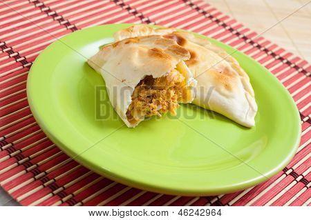 Chicken Empanada.