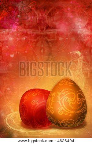 Figured  Patterns  Easter  Background
