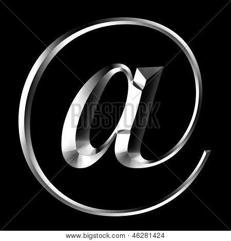 Email Alias Silver Black