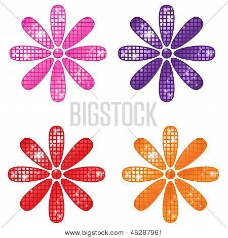 Glittering Flowers