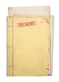 Top Secret Folder.
