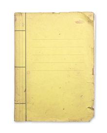 Old Yellow Folder.