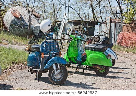 Italian Scooters Vespa