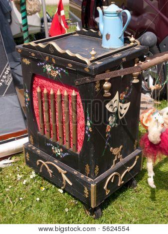 Street Organ Box Barrel