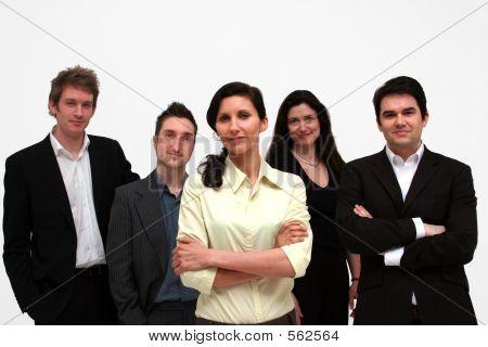 Team Business  5 People