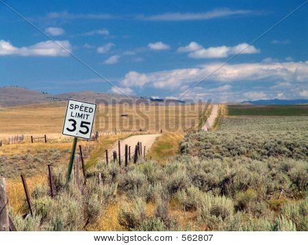 The Road To Nowhere, Montana.