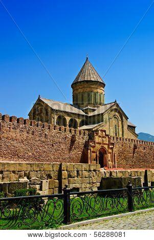 Church tower in Mtsheta