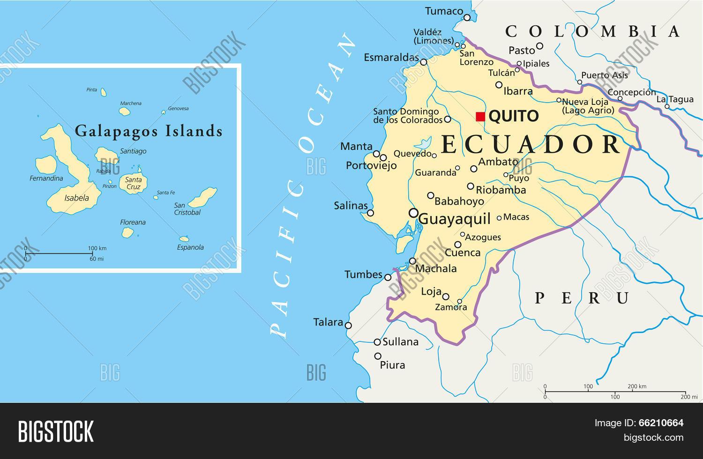Ecuador Galapagos Vector Photo Free Trial Bigstock