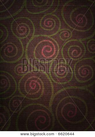 Floral Spirals Distressed