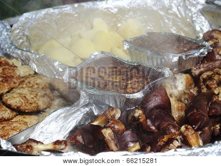 Hot Meat Dishes