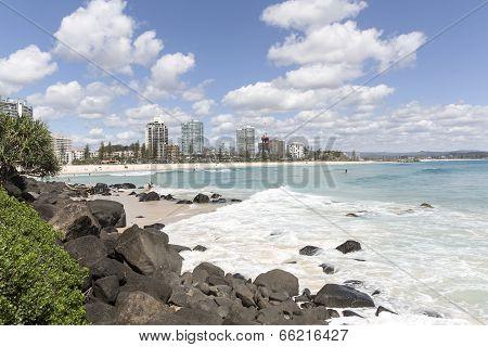 Gold Coast Coolangatta Beach