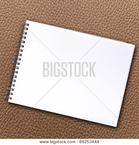Notebook Blank Page