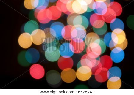 Defocused light color night abstract pattern background poster