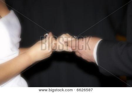 Exchanging Wedding Bands Ceremony