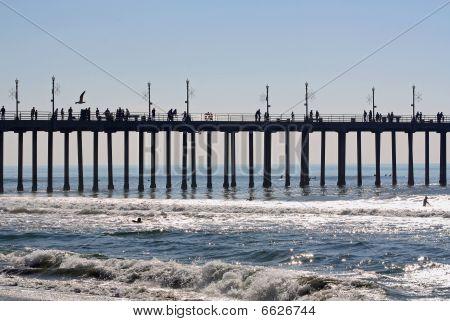 Pier Near the Ocean