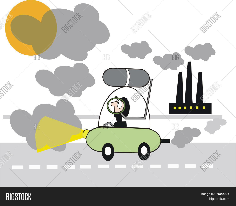 Pollution cartoon vector photo bigstock pollution cartoon sciox Gallery