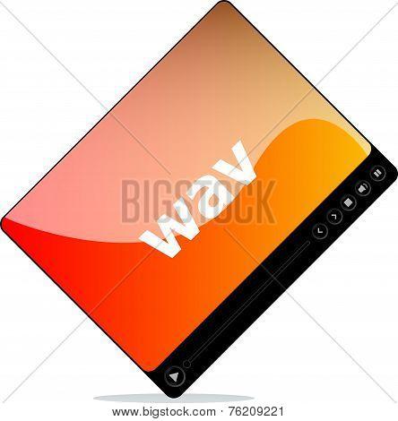 Wav On Media Player Interface