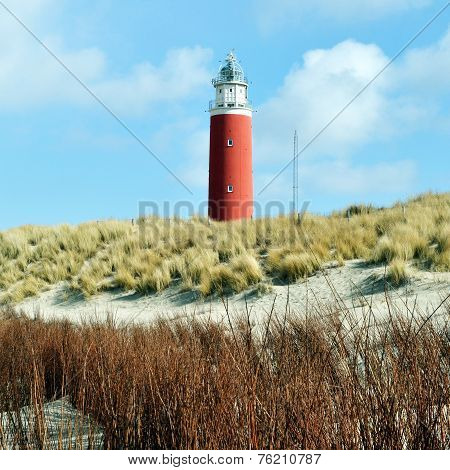Lighthouse On Island Texel.