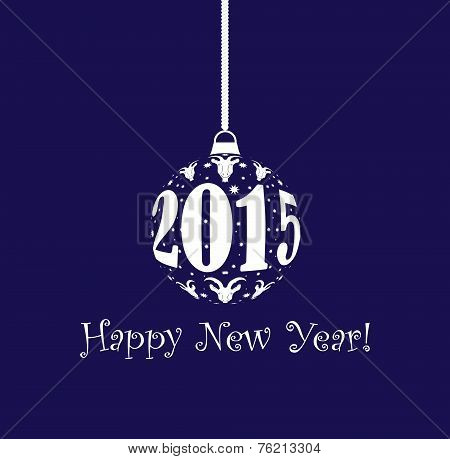 New Year 2015 Christmas Ball