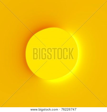 Abstract art background with inside out optical illusion effect. Bullet hole. Circle element design.