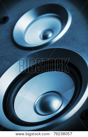 High Fidelity Audio Stereo System Sound Speaker