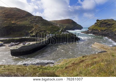 Boscastle Harbour Cornwall