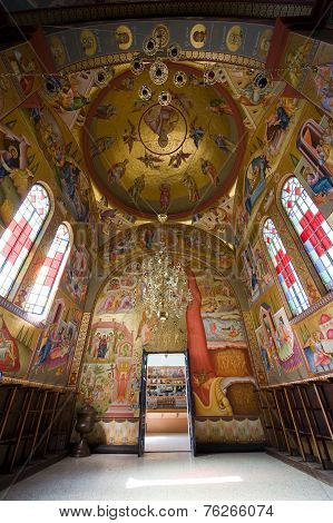 Interior Of The 'church Of The Seven Apostles'