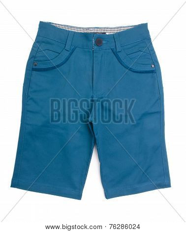 Pants, Kid Pants On Background.