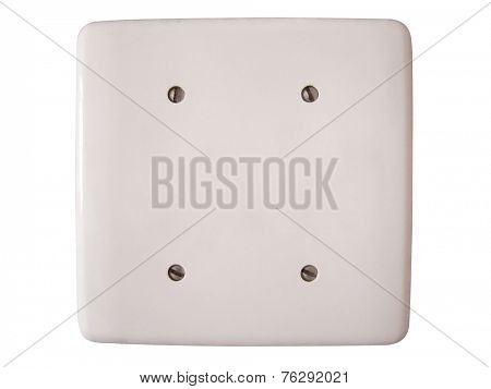 Photo of Blank wall plate