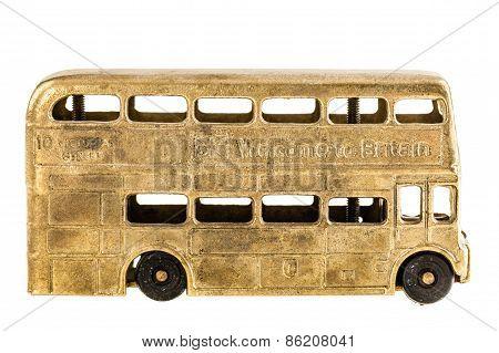 Retro British Bus Toy