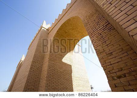 One of the gates of Babylon