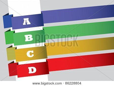 Wrap Around Banners Layout Design