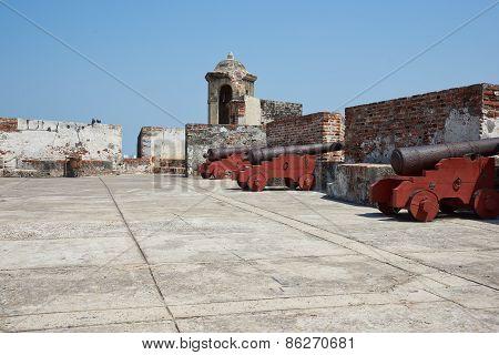 Castle of San Felipe De Barajas