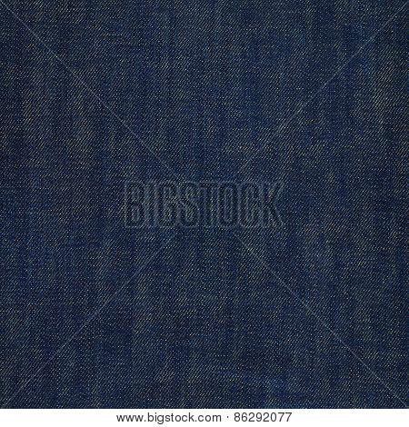 Dark navy blue jeans texture