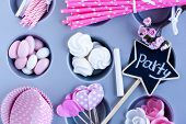 celebration time, party items for party preparation poster