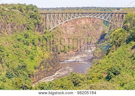 Bridge Over The Zambezi River, Victoria Falls
